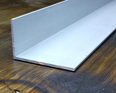 Уголок алюминиевый неравнополочный 60х20 АД31 3 м