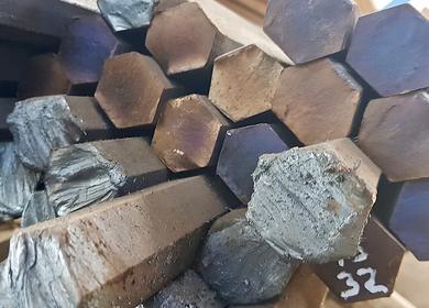 Шестигранник стальной